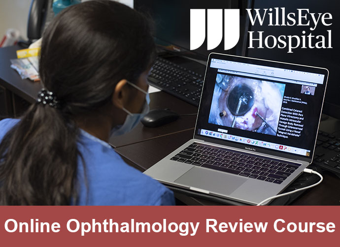OnDemand Wills Eye Ophthalmology Review Course Banner
