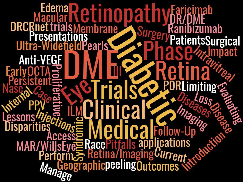Retina Update: Advances in Management of DR [Nase Lecture] (05/22/21 @ 8 a.m. ET) Banner